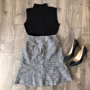 Talbots flair skirt size 8